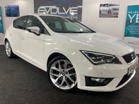 USED 2014 64 SEAT LEON 2.0 TDI FR TECHNOLOGY 5d 184 BHP F/S/H, IMMACULATE, LOW MILEAGE