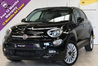 USED 2016 66 FIAT 500X 1.4 MULTIAIR LOUNGE 5d 140 BHP SAT NAV, CRUISE CONTROL, REVERSE PARKING AID, FULL SERVICE HISTORY