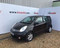 2007 NISSAN NOTE 1.4 ACENTA 5d 88 BHP £1695.00