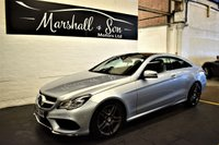 USED 2014 64 MERCEDES-BENZ E CLASS 2.1 E250 CDI AMG LINE 2d AUTO 201 BHP STUNNING LOW MILES - MB S/H + PRE DELIVERY- ALPACA LEATHER - SAT NAV - HEATE SEATS - GLASS PANORAMIC ROOF - AMG ALLOYS