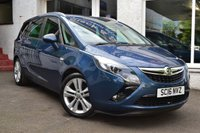 2016 VAUXHALL ZAFIRA TOURER 1.4 SRI TURBO 5d 138 BHP £9295.00