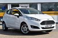 USED 2014 14 FORD FIESTA 1.5 ZETEC TDCI 3d 74 BHP COMES WITH 6 MONTHS WARRANTY
