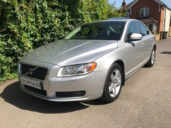 "2008 VOLVO S80 3.2 PETROL SE LUX AUTOMATIC - FULL SERVICE HISTORY - ULEZ COMPLIANT -SATELLITE NAVIGATION, ELECTRIC MEMORY DRIVER SEATS, HEATED SEATS, AIR CONDITIONING, 17"" ALLOY WHEELS   £6990.00"
