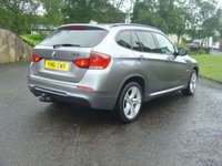 USED 2011 61 BMW X1 2.0 XDRIVE23D M SPORT 5d AUTO 201 BHP ////   THIS VEHICLE COST ALMOST 35K WHEN NEW  /////