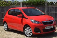 USED 2016 66 PEUGEOT 108 1.0 ACTIVE 5d 68 BHP Free 12 month warranty