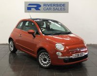 USED 2008 FIAT 500 1.4 Lounge 3dr