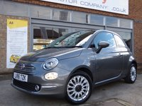 USED 2016 16 FIAT 500 0.9 TWINAIR LOUNGE 3d 85 BHP ONE OWNER FULL SERVICE HISTORY & FREE ROAD TAX