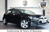 """USED 2016 16 VOLKSWAGEN GOLF 1.4 MATCH EDITION TSI BMT 5DR 121 BHP full vw service history * NO ADMIN FEES * FINISHED IN STUNNING BLACK WITH CLOTH UPHOLSTERY + FULL VW SERVICE HISTORY + BLUETOOTH + DAB RADIO + HEATED SEATS + CRUISE CONTROL + HEATED MIRRORS + USB/AUX PORT + AIR CON + 16"""" ALLOY WHEELS"""