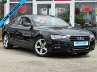 USED 2013 63 AUDI A5 1.8 TFSI SE 2d AUTO 168 BHP STUNNING, VERY LOW MILEAGE, AUDI A5 1.8T SE TFSI CVT COUPE. Finished in BRILLIANT BLACK with FULL Grey LEATHER trim. This is a rare opportunity to own this very low mileage car. This A5 is quite possibly the lowest mileage A5 on sale at the moment. It is stylish, looks great and feels very well built. It has a plush interior with every extra. Features include, Leather seats, DAB radio, B/Tooth, Park Sensors, Cruise and much more.