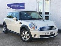 2010 MINI HATCH COOPER 1.6 COOPER 3d 118 BHP £5495.00