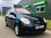 2009 KIA PICANTO 1.0 12V 5 DOOR HATCH with low miles and full service history £1995.00