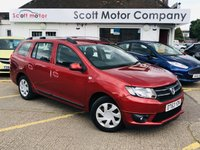 2014 DACIA LOGAN MCV 0.9 Laureate TCE 5 door £4999.00