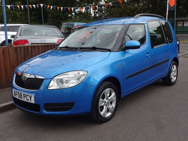 USED 2008 58 SKODA ROOMSTER 2 1.4 TDi 5DOOR, 2 OWNERS *FULL SERVICE HISTORY*LONG MOT*CLIMATE CONTROL*