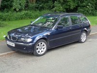 USED 2002 02 BMW 3 SERIES 2.0 318I SE TOURING 5d 141 BHP (SPARES OR REPAIRS)