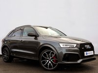 USED 2016 16 AUDI Q3 2.5 RS TFSI QUATTRO 5d AUTO 335 BHP VERY RARE CAR with GREAT SPECIFICATION......