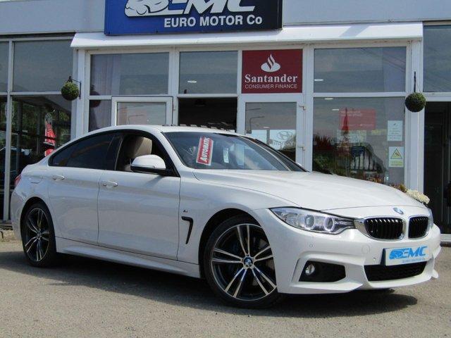 2015 15 BMW 4 SERIES GRAN COUPE 2.0 420D M SPORT GRAN COUPE 4d AUTO 188 BHP