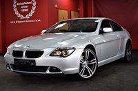 USED 2006 56 BMW 6 SERIES 3.0 630I 2d AUTO 255 BHP