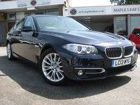 2013 BMW 5 SERIES 2.0 520D LUXURY 4d AUTO 181 BHP
