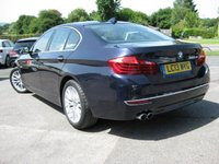 USED 2013 13 BMW 5 SERIES 2.0 520D LUXURY 4d AUTO 181 BHP Navigation Bluetooth Full BMW History Full Leather. Bluetooth. Electric folding mirrors. Heated seats