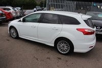 USED 2013 63 FORD FOCUS 1.6 ZETEC S TDCI 5d 113 BHP