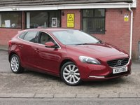 2013 VOLVO V40 2.0 D3 SE LUX AUTOMATIC+LEATHER 5dr £8490.00