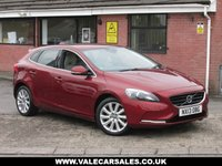 USED 2013 B VOLVO V40 2.0 D3 SE LUX AUTOMATIC+LEATHER 5dr AUTOMATIC AND FULL LEATHER INTERIOR