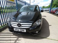 USED 2014 14 MERCEDES-BENZ B CLASS 1.5 B180 CDI BLUEEFFICIENCY SE 5dr Auto Cruise Paddle shift Bluetooth Automatic,Just £20 Road Tax