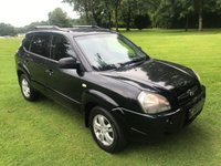 USED 2006 HYUNDAI TUCSON 2.0 LIMITED 5d 139 BHP **EXCELLENT EXAMPLE**FULL LEATHER INTERIOR**HEATED SEATS**