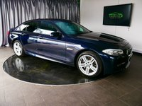USED 2011 61 BMW 5 SERIES 2.0 525D M SPORT 4d AUTO 215 BHP £0 DEPOSIT FINANCE AVAILABLE, AIR CONDITIONING, AUTOMATIC HEADLIGHTS, BLUETOOTH CONNECTIVITY, CLIMATE CONTROL, CRUISE CONTROL, ELECTRONIC PARKING WITH AUTO HOLD, HEATED SEATS, PARKING SENSORS, SATELLITE NAVIGATION, START/STOP SYSTEM, STEERING WHEEL CONTROLS, TRIP COMPUTER