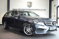 """USED 2015 64 MERCEDES-BENZ E CLASS 2.1 E250 CDI AMG LINE 5DR AUTO 201 BHP full mercedes service history * NO ADMIN FEES * FINISHED IN STUNNING TENORITE METALLIC GREY WITH FULL LEATHER INTERIOR + FULL MERCEDES SERVICE HISTORY + COMAND SATELLITE NAVIGATION + BLUETOOTH + HEATED SEATS + AMG STYLING PACKAGE-FRONT SPOILER, SIDE SKIRT + DIRECT START / ECO START/STOP FUNCTION + ACTIVE PARK ASSIST + 18"""" ALLOY WHEELS"""