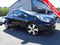 USED 2014 64 KIA RIO 1.4 CRDI 4 ECODYNAMICS 5d 89 BHP 1 OWNER AND FULL KIA SERVICE HISTORY. £20 YEAR TAX