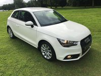 USED 2012 09 AUDI A1 1.6 TDI SPORT 3d 103 BHP **EXCELLENT FINANCE PACKAGES**FREE ROAD TAX**12 MONTHS MOT**