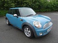 2009 MINI HATCH ONE 1.4 ONE 3d 94 BHP £2990.00