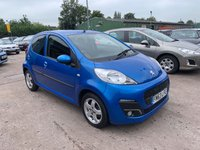 USED 2014 63 PEUGEOT 107 1.0 ALLURE 5d 68 BHP £0.00 ROAD TAX ON THIS CAR