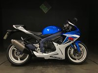 2012 SUZUKI GSXR 600 2012. 1 OWNER. ONLY 887 MILES. FSH (7 SERVICES!) MINT £6499.00