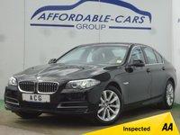 USED 2016 16 BMW 5 SERIES 2.0 520D SE 4d AUTO 188 BHP