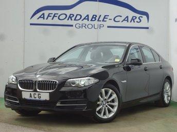 2016 BMW 5 SERIES 2.0 520D SE 4d AUTO 188 BHP £13450.00