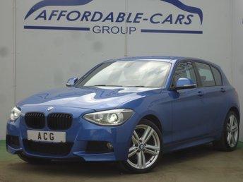 2013 BMW 1 SERIES 2.0 120D XDRIVE M SPORT 5d 181 BHP £8950.00