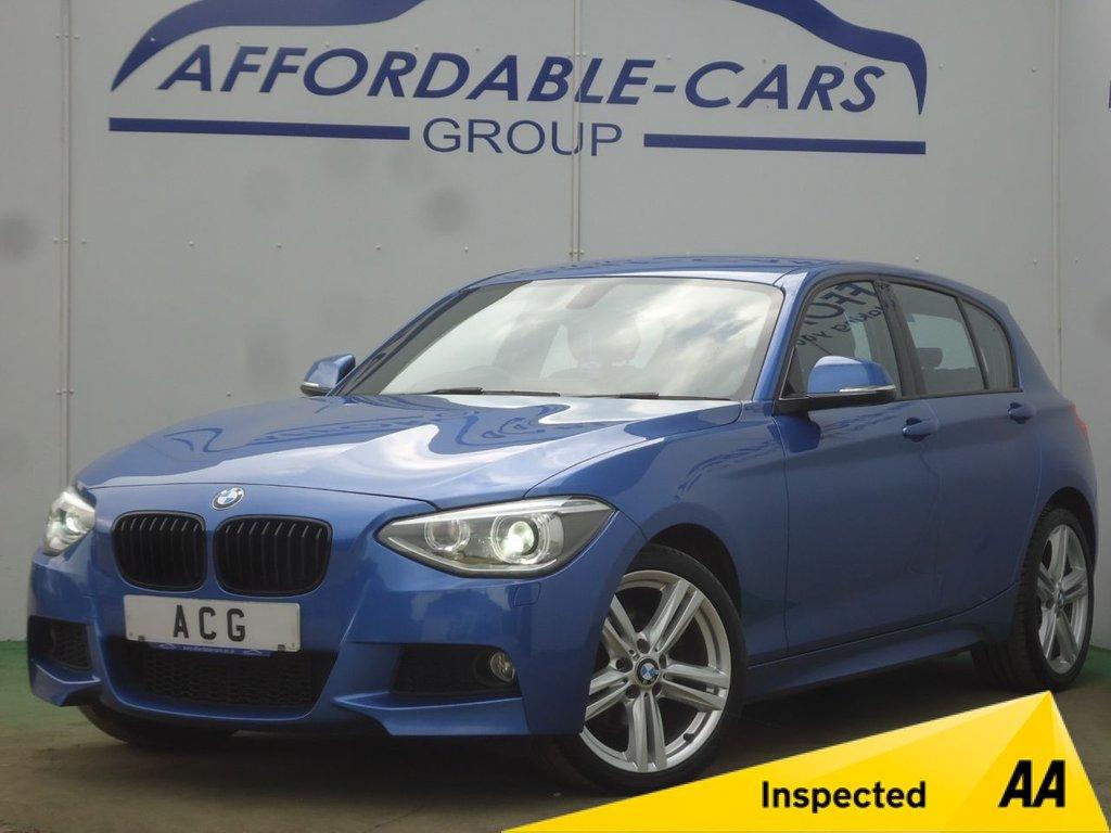 USED 2013 13 BMW 1 SERIES 2.0 120D XDRIVE M SPORT 5d 181 BHP