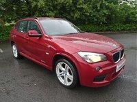 2012 BMW X1 2.0 SDRIVE18D M SPORT 5d 141 BHP £7990.00