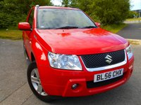 USED 2007 56 SUZUKI GRAND VITARA 1.6 VVT PLUS 3d 105 BHP ** 4 WHEEL DRIVE, CHROME SIDE STEPS , ALLOYS , YES ONLY 61K , ABSOLUTE  IMMACULATE EXAMPLE **