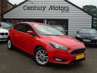 2015 FORD FOCUS 1.5 TDCI [120] Zetec Navigation 5d BLUETOOTH + SAT NAV £6990.00