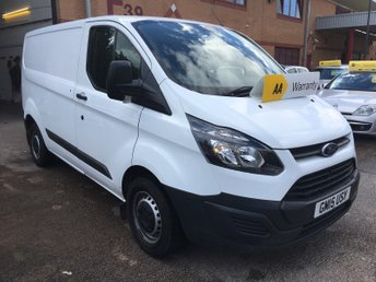 View our FORD TRANSIT CUSTOM