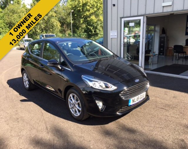 2018 18 FORD FIESTA 1.0 ZETEC ECOBOOST (100PS) NEW MODEL