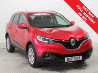 USED 2016 16 RENAULT KADJAR 1.5 DYNAMIQUE NAV DCI 5d AUTO 110 BHP Stunning Renault Kadjar Dynamique Nav comes with Full Service History and an MOT until June 2020. First Registered in April 2016 and in addition to Sat Nav this car comes in Special Metallic Flame Red and with an array of equipment including  Cruise Control, Renault R Link 7 inch touchscreen, Leather Multi Functional Steering Wheel, Lane Departure Warning, Road Traffic Sign Recognition, Electrically Operated Wing Mirrors, Bluetooth, Air Conditioning, DAB Radio, Keyless Entry, Alloys, 2 Keys.