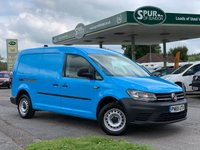 USED 2015 65 VOLKSWAGEN CADDY MAXI LWB 1.6 C20 TDI STARTLINE 1d 101 BHP Air Con, Only 26,000 Miles, NEW SHAPE, Bluetooth Phone Handsfree.