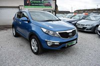 USED 2012 62 KIA SPORTAGE 1.7 CRDi 2 2WD 5dr 3 MONTHS WARRANTY & PDI CHECKS