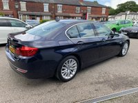 USED 2014 64 BMW 5 SERIES 2.0 520d Luxury 4dr FULL BMW SERVICE HISTORY