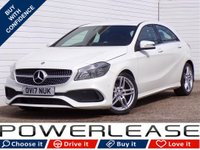 USED 2017 17 MERCEDES-BENZ A CLASS 1.5 A 180 D AMG LINE EXECUTIVE 5d 107 BHP SAT NAV CAMERA HEATED LEATHER