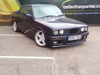 1991 BMW 3 SERIES 2.5 325I 2d 171 BHP CONVERTIBLE £14950.00